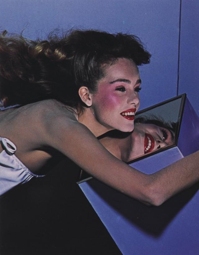 Модель Эллен фон Унверт, 1980. Автор Ги Бурден
