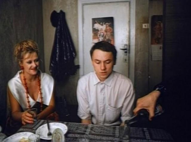 Кадр из фильма Облако-рай, 1990 год. Режиссёр Николай Досталь (36)