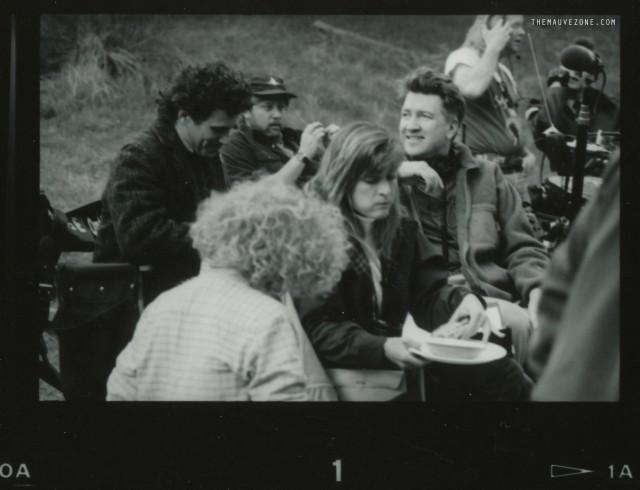 На съемках второго сезона «Твин Пикс»