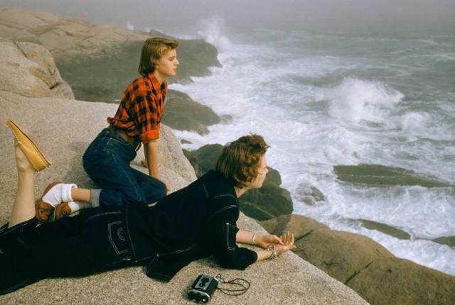 Прибой, побережье Новой Шотландии, 1961. Фотограф Фолькмар Венцель