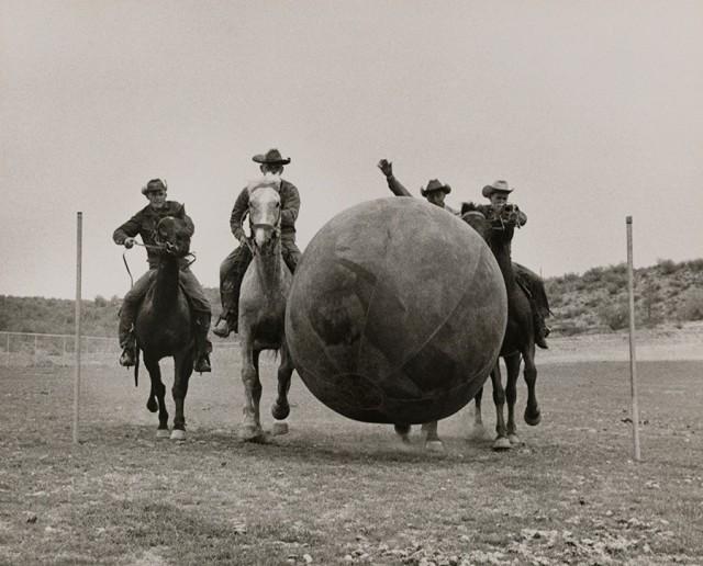 Спортивные игры аризонских ковбоев, Финикс, 1955