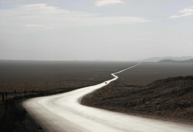 Дорога через горы Загрос, Иран, 1969. Фотограф Брюс Дейл