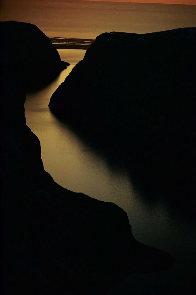 Уэстерн-Брук-Понд, Ньюфаундленд, Канада. Фотограф Сэм Абелл