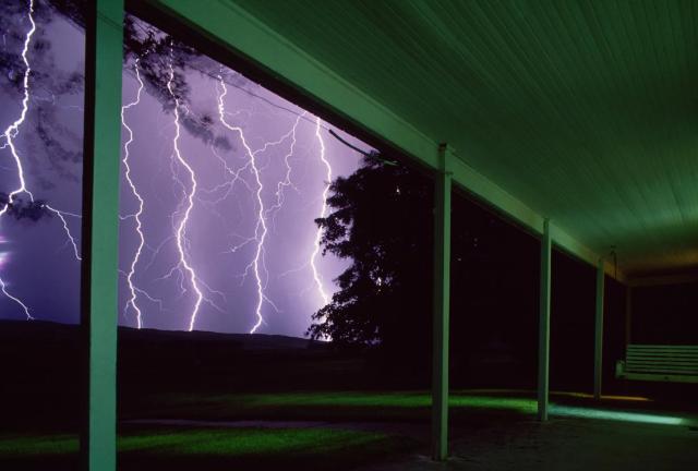 Гроза в Небраске. Фотограф Джим Ричардсон