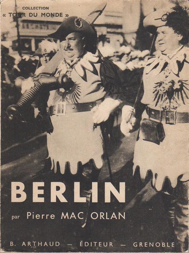 Фотокнига «Берлин», 1930-е. Автор Пьер Мак-Орлан