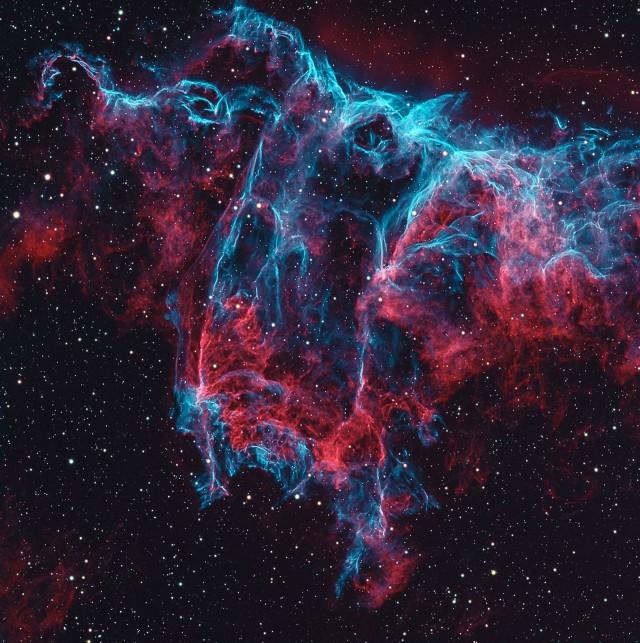Туманность Летучая Мышь. Автор Хосеп Друдис