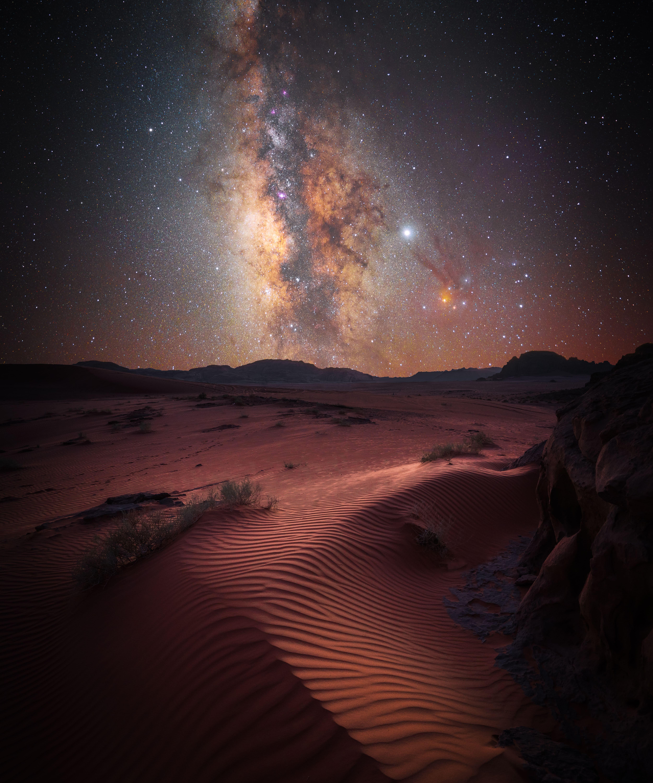 «Магия пустыни». Вади-Рам, Иордания. Автор Стефан Либерманн