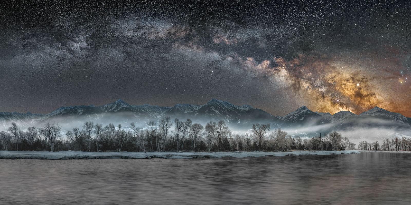 «Холодная ночь в Йеллоустоне». Автор Джейк Мошер