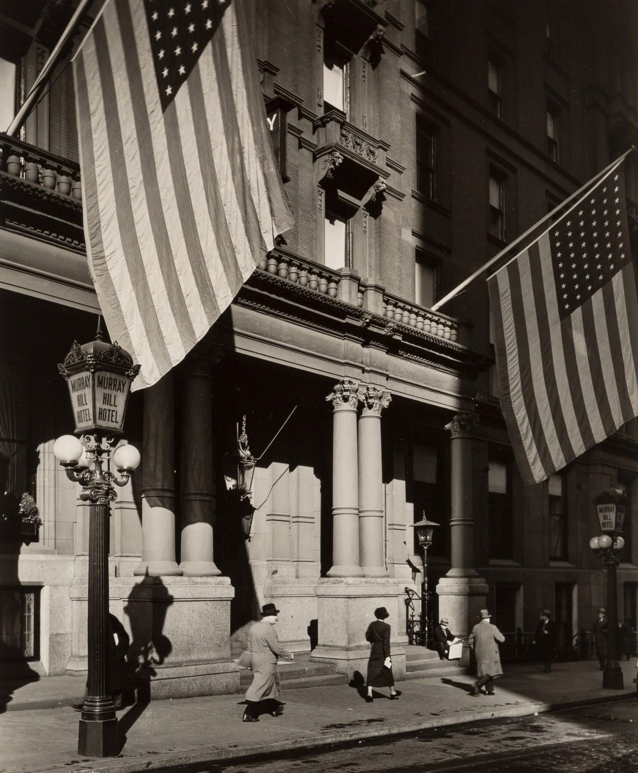 Отель Мюррей Хилл, Парк-авеню, 19 ноября 1935. Автор Беренис Эббот