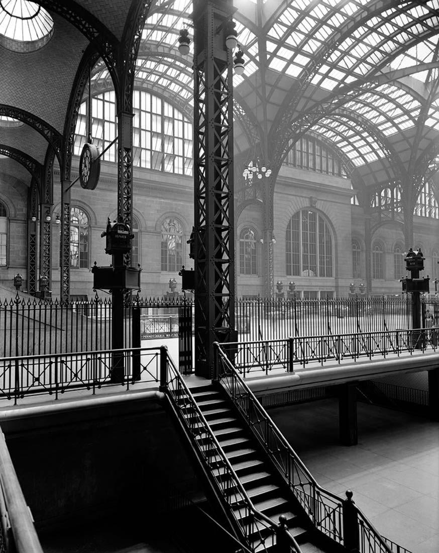 Пенсильванский вокзал, 1936. Автор Беренис Эббот