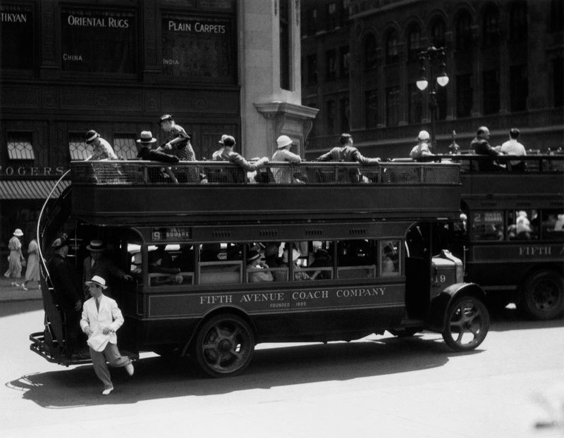 Пятая авеню, 1932. Автор Беренис Эббот