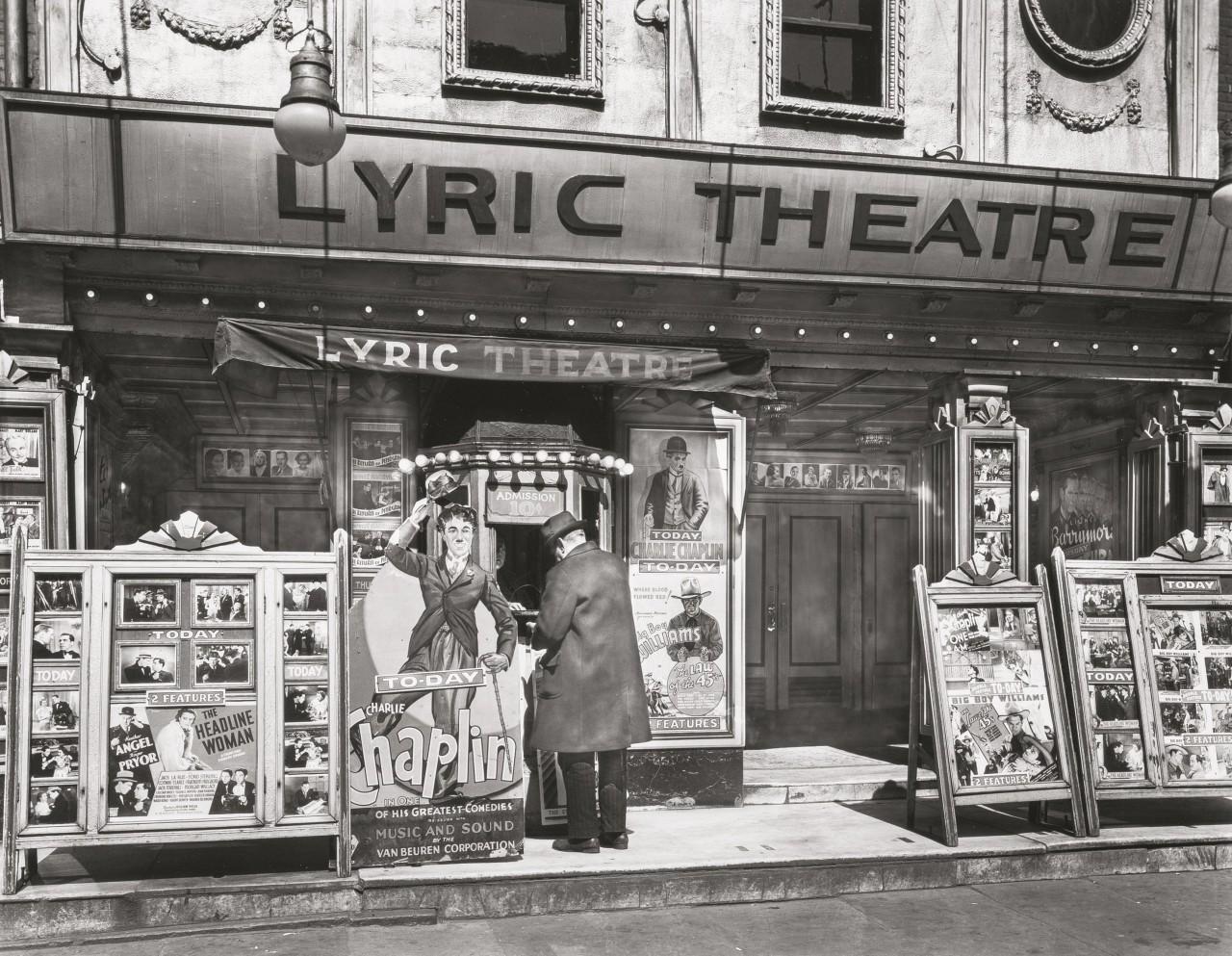 Театр, Третья авеню, 24 апреля 1936. Автор Беренис Эббот