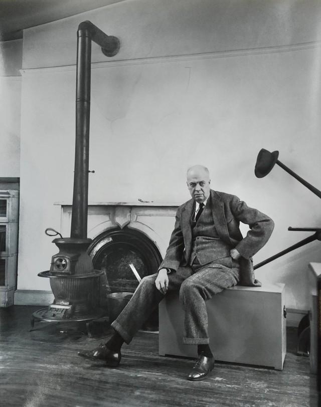 Эдвард Хоппер, 1948. Автор Беренис Эббот