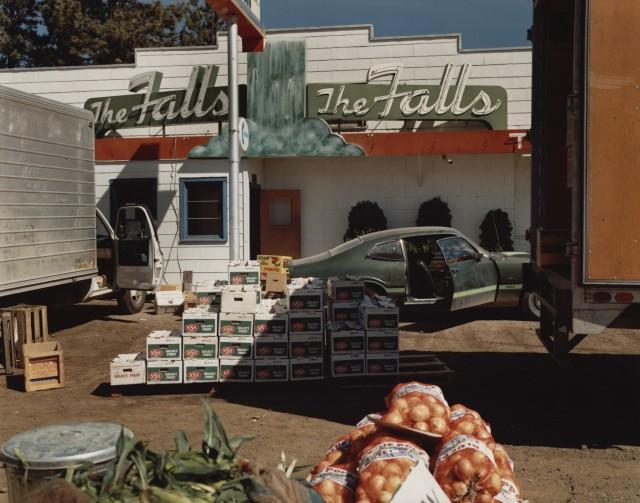 Пост-Фолс, Айдахо, 1974. Автор Стивен Шор