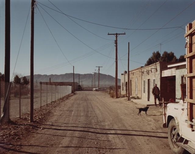 Пресидио, Техас, 1975. Автор Стивен Шор