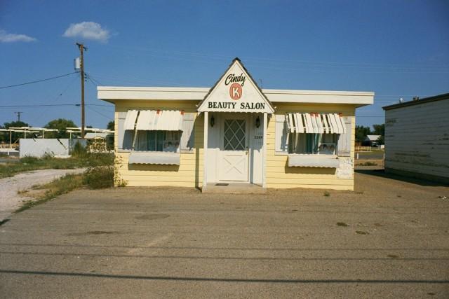 Салон красоты, Амарилло, Техас, 1973. Автор Стивен Шор