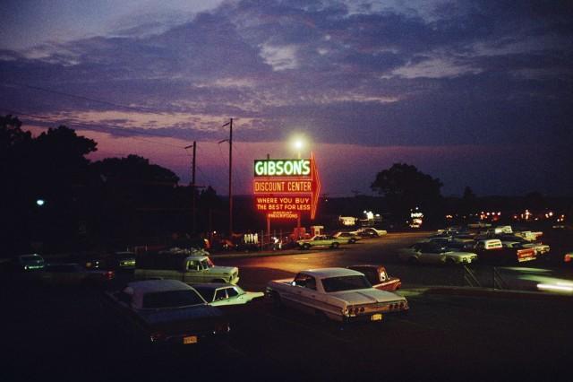 Тайлер, Техас, июнь, 1972. Автор Стивен Шор