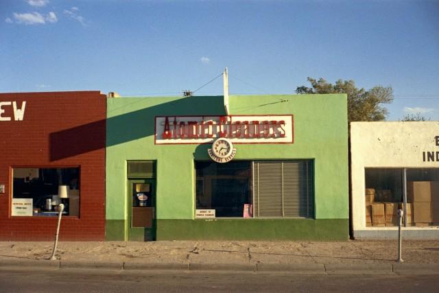 Фармингтон, Нью-Мексико, июнь, 1972. Автор Стивен Шор