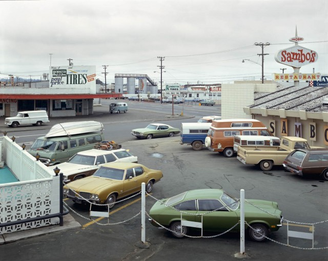 Юрика, Калифорния, 1974. Автор Стивен Шор