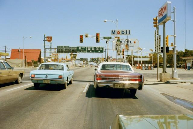 Амарилло, Техас, 1973. Автор Стивен Шор
