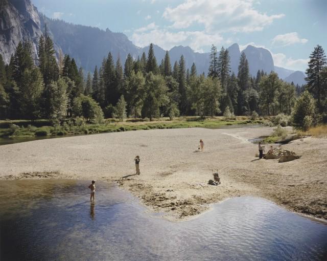 Река Мерсед, Национальный парк Йосемити, Калифорния, 1979. Автор Стивен Шор