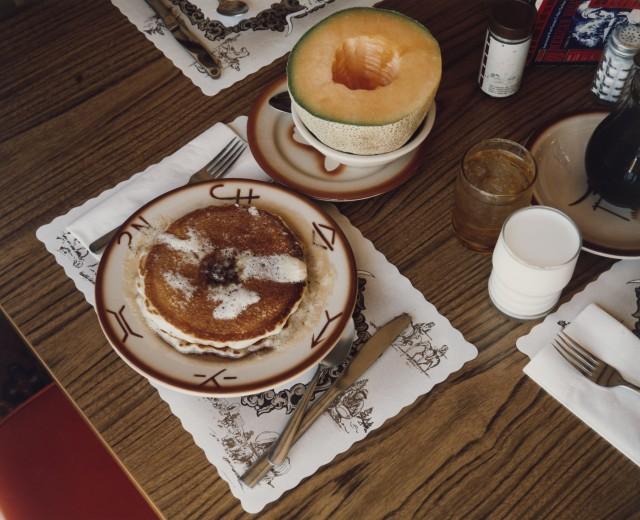 Завтрак, Канаб, Юта, 10 августа 1973. Автор Стивен Шор