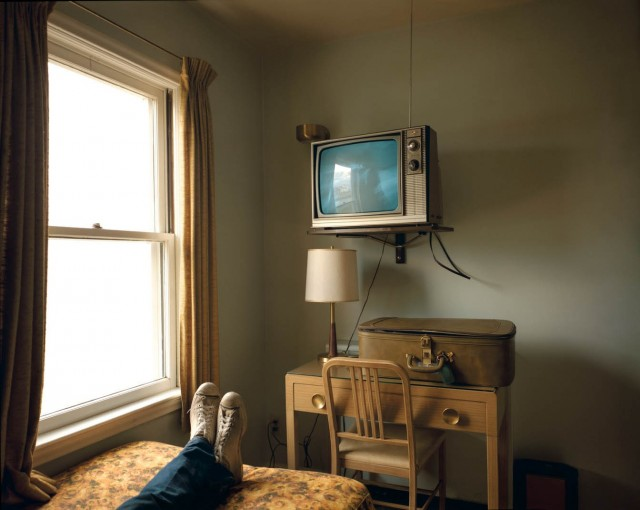 Мотель в Айдахо-Фолс, 1973. Фотограф Стивен Шор