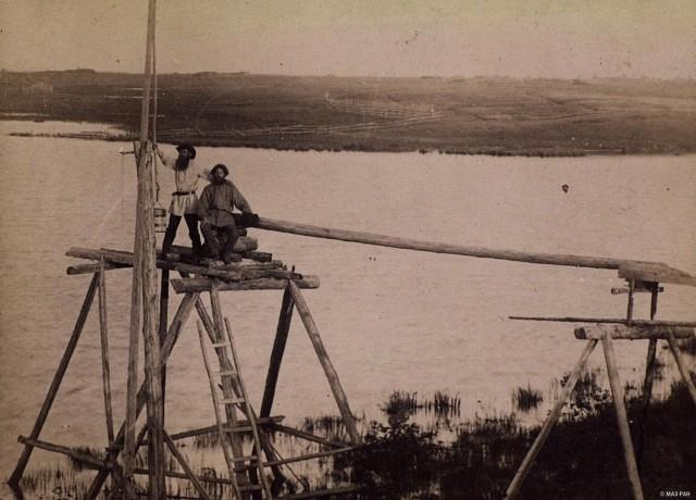 Водокачка у скопцов из Мархинска в окрестностях Якутска, вторая половина XIX века