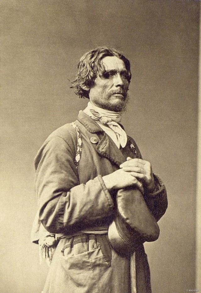 Портрет мужчины. Санкт-Петербург, 1860-е. Автор В. А. Каррик