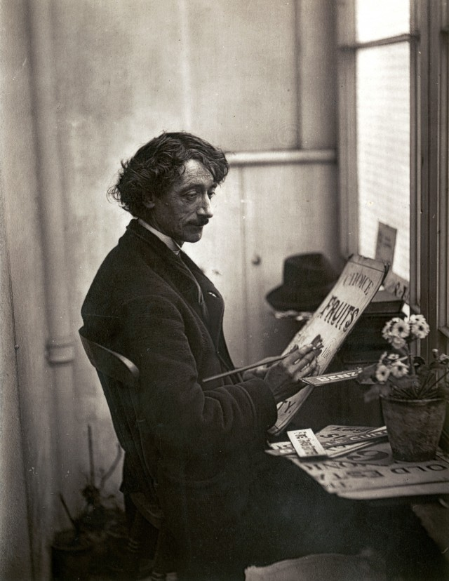 «Билеты», Художник объявлений, 1877. Автор Джон Томпсон