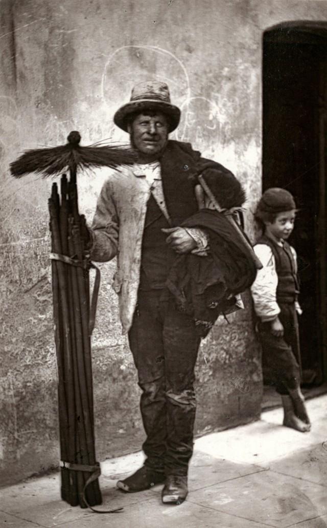 Трубочист-трезвенник, 1877. Автор Джон Томпсон