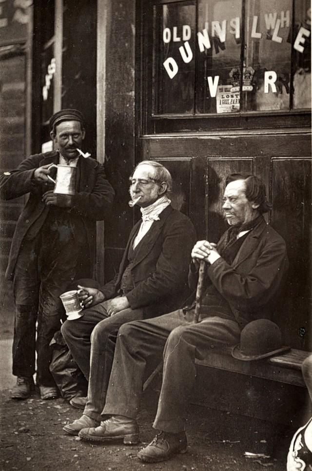 Рабочий, 1877. Автор Джон Томпсон