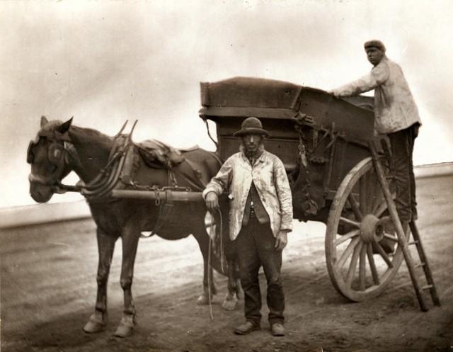 Мусорщики, 1877. Автор Джон Томпсон