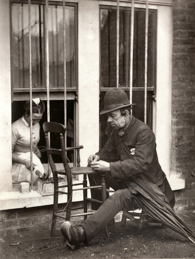 Клоун «Кейни», 1877. Автор Джон Томпсон