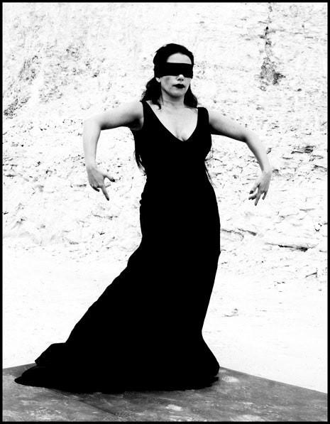 Ева Мария Гарридо Гарсия Ербабуэна (Ева Ербабуэна). Из книги «Mil Besos». Автор Рувен Афанадор