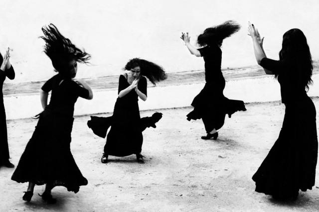 Школа фламенко «Ла Фаррука». Из книги «Mil Besos». Автор Рувен Афанадор