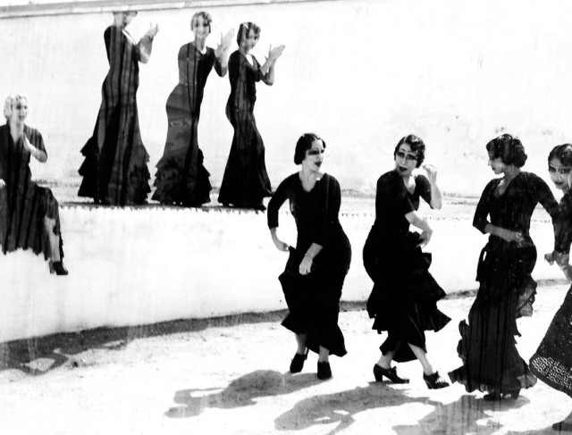 Женщины фламенко. Из книги «Mil Besos». Автор Рувен Афанадор (4)