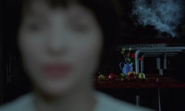 Жюльет Бинош, кадр из фильма «Дурная кровь», 1986
