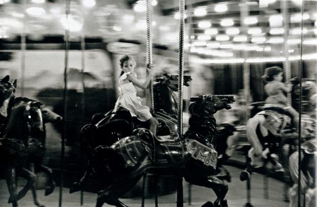 Карусель, Новый Орлеан, 1952. Фотограф Фрэнк Полин