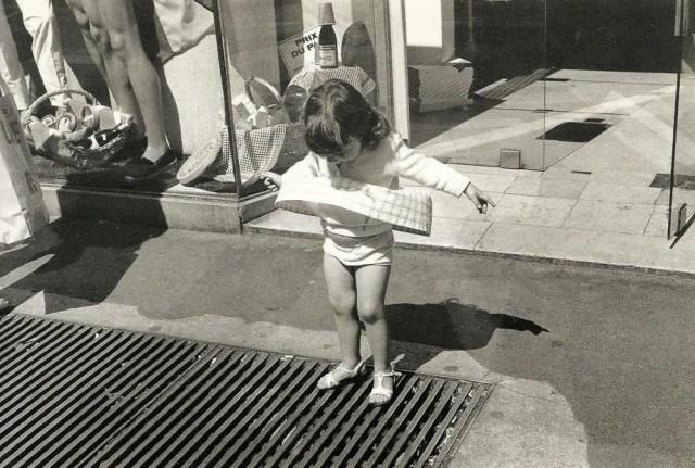 Маленькая Мэрилин, Париж, 1975. Фотограф Эдуард Буба