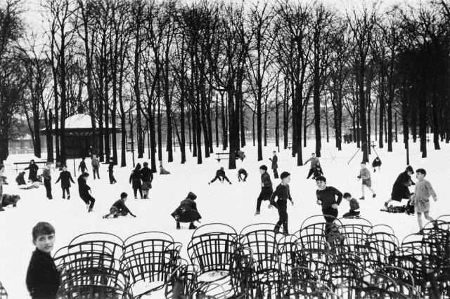 Люксембургский сад, 1955. Фотограф Эдуард Буба