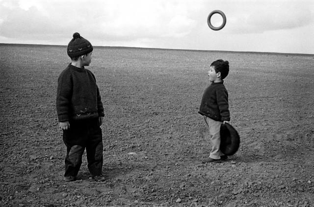 Мишель и Лоренцо. Рядом с Парижем, Франция, 1959. Фотограф Франк Хорват