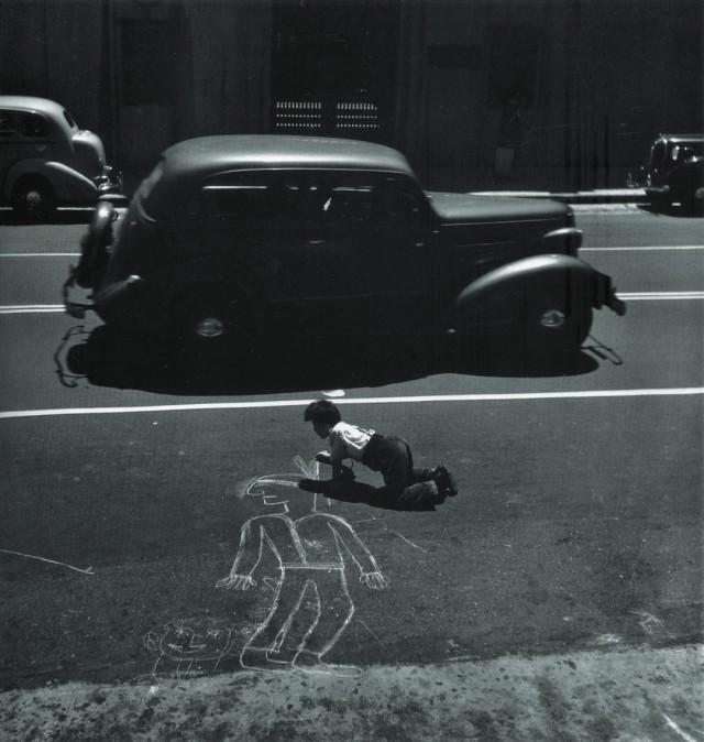 Художник в Сан-Франциско, 1938. Фотограф Джон Гутманн