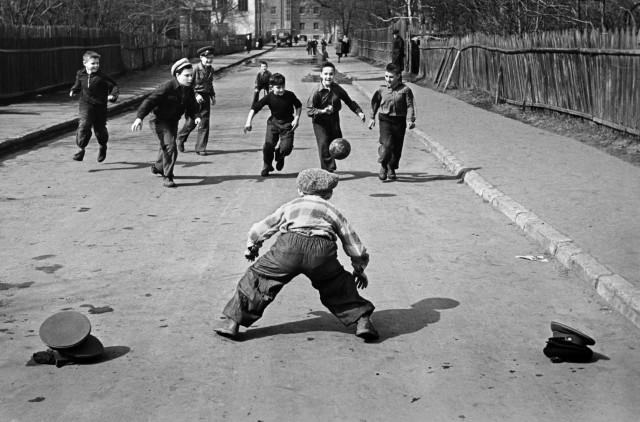 «Весна в Москве», 1959. Фотограф Валерий Кругликов