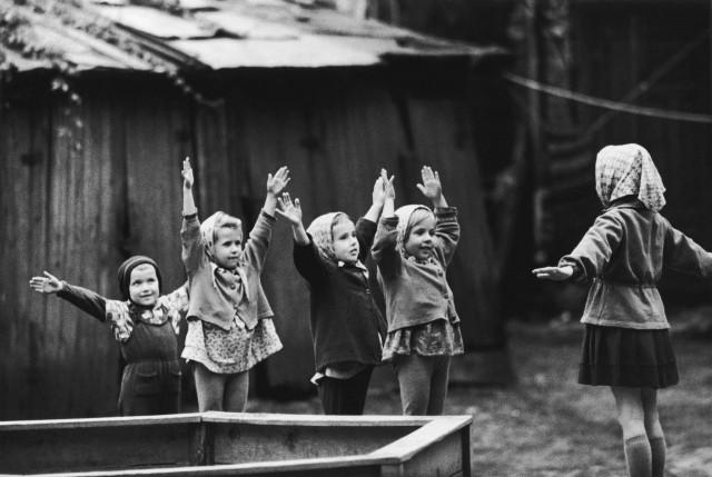 «Зарядка», 1963. Фотограф Антанас Суткус