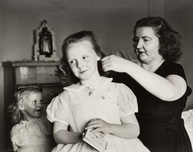 Первое причастие, 1961. Фотограф Ларри Финк