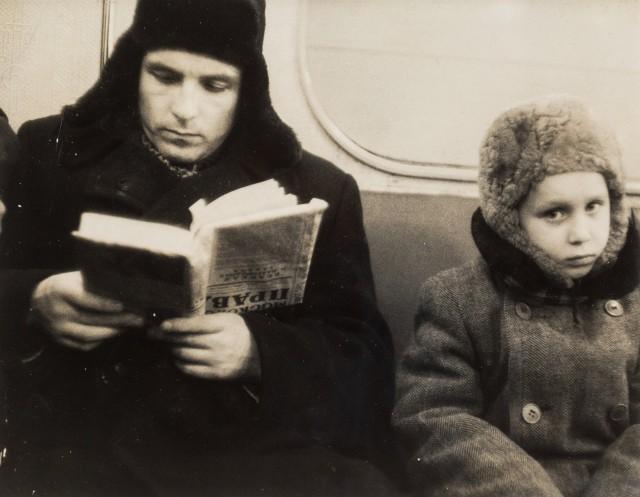 Мороз, 1960. Фотограф Марк Рибу
