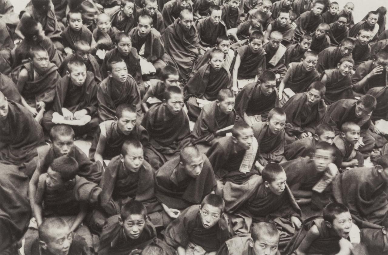 Школа для юных монахов, 1995. Фотограф Дэнни Конант