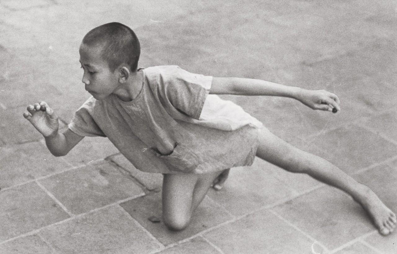 Яванский мальчик, 1955. Фотограф Готтхард Шух