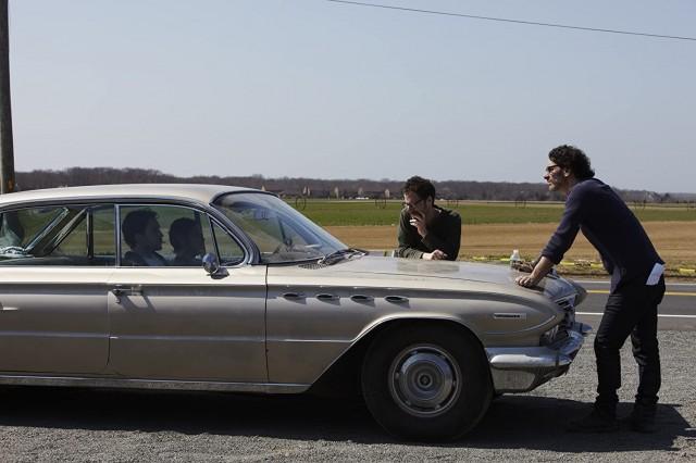 Итан Коэн и Джоэл Коэн на съёмках «Внутри Льюина Дэвиса», 2013